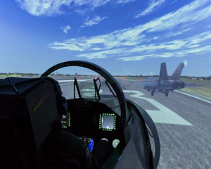 F/A-18 Jet Fighter Simulator, 60 Minutes - Sydney WEEKDAY SPECIAL