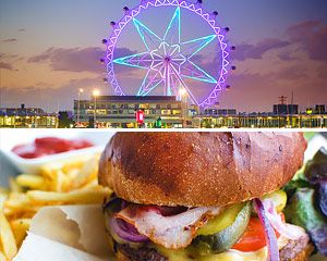 Melbourne Star Observation Wheel Admission And Pub Grub