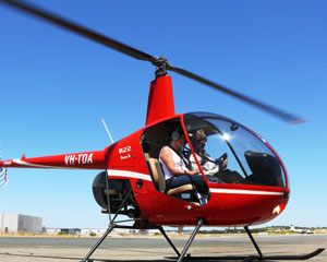 Helicopter, Learn to Fly an R22, 30 min - Perth