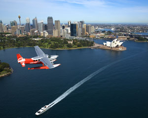 Sydney Seaplanes Scenic Flight And Shark Island Picnic Brunch