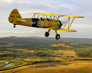 Boeing Stearman Biplane, 20 Minute Scenic Flight - Yarra Valley, Melbourne