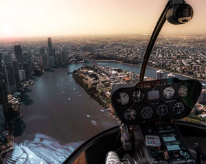 Helicopter Scenic Flight for 2, 15-20min - Brisbane CBD SPECIAL OFFER - THIRD PERSON FLIES FOR FREE!