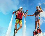 Jet Pack OR Board Flight, In-Water Training PLUS 10 Minute Flight - Sunshine Coast