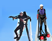 Jet Pack AND Board Combo, In-Water Training PLUS 20 Minute Flight Time - Sunshine Coast