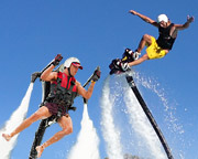 Jet Pack AND Board Combo, In-Water Training PLUS 30 Minute Flight Time - Sunshine Coast