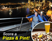 BridgeClimb Sydney - Weekend Night FATHER'S DAY SPECIAL - INCLUDES PIZZA AND A PINT