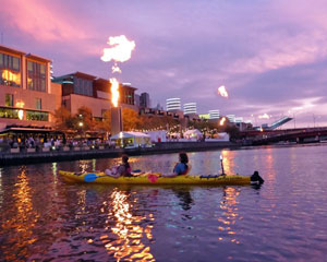 Sea Kayaking, Melbourne City Twilight Kayak Tour - Melbourne
