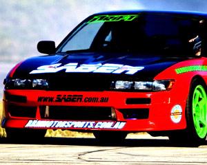 Drifting, 2 Drift Battle Hot Laps - Calder Park, Melbourne