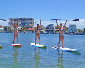 Stand Up Paddle Board Lesson, 1 Hour - Gold Coast