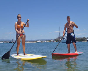 Stand Up Paddle Board, 1.5 Hour Private Lesson - Gold Coast