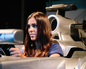 F1 Racing Simulator For 2, 60 Minutes - Brisbane FOR 2 PEOPLE