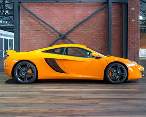 McLaren 12C Supercar Drive and Dine PLUS Passenger Rides For Free - Newcastle