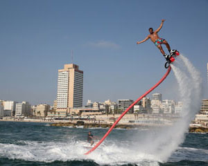 Flyboard Port Melbourne - 30 Minute Weekday Experience INCLUDES FREE HIGHLIGHTS VIDEO WORTH $39