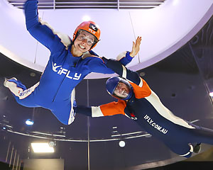 Indoor Skydiving Perth, iFLY Intro Package (2 Flights) - NOW FLYING