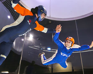 Indoor Skydiving Perth, iFLY Plus Package (4 Flights) - NOW FLYING