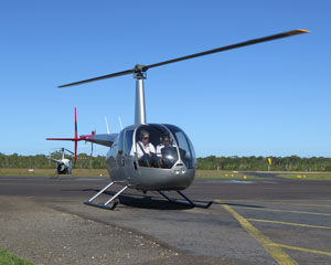 Helicopter Flying Lesson, Learn To Fly in an R44 - Caloundra