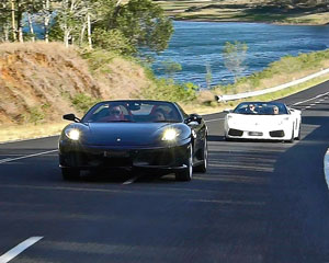 Ferrari AND Lamborghini Drive Brisbane - Drive 2 Awesome Supercars!