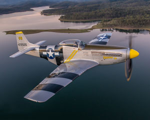 P-51 Mustang Adventure, 25 Minute Including 15 Minute Flight - Brisbane