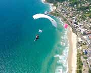 Skydiving Over The Beach Noosa - Tandem Skydive 14,000ft