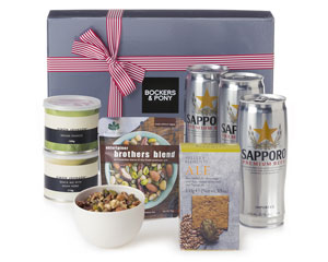 Sapporo Beer Gourmet Hamper from Bockers & Pony