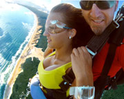 Skydiving Rainbow Beach Fraser Coast - 14,000ft Tandem Skydive WEEKDAY SPECIAL