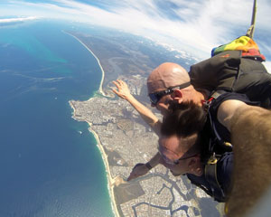 Skydiving Sunshine Coast Caloundra - Tandem Skydive 15,000ft WEEKDAY SPECIAL