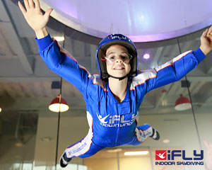 Indoor Skydiving Gold Coast, iFLY Plus Package (4 Flights) - SPECIAL OFFER