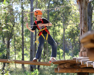 Tree Top Adventure Park Experience For Children 3-9 - Hills District Sydney