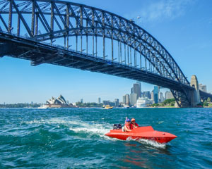 Self Drive Boat Adventure, Sydney Harbour Grand Tour - INCLUDES PASSENGER
