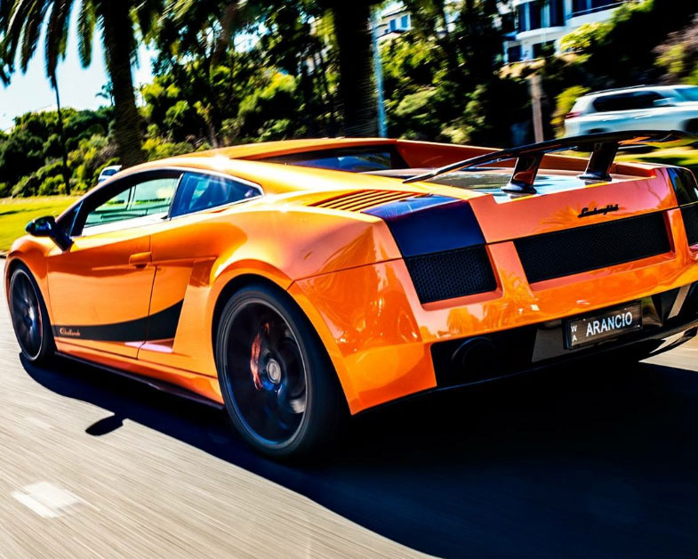 Lamborghini Gallardo, 1hr Self Drive Experience - Perth