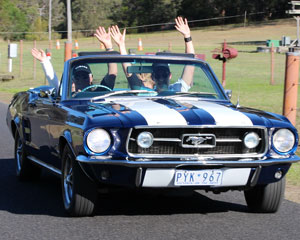 Classic Car Hire, Ford Mustang GT350 For A Day - Sydney