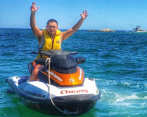 Jet Ski Hillarys, Ocean Blast Tour 60 Minutes - Perth (SINGLE RIDER) No licence required!