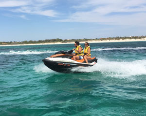 Jet Ski Hillarys, Ocean Blast Tour 30 Minutes - Perth (RIDER PLUS PASSENGER) No licence required!