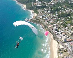 Skydiving Over The Beach Noosa JUNE SALE SPECIAL $249!