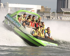 V8 Jet Boat Ride, 1-hour - Surfers Paradise, Gold Coast WINTER SPECIAL OFFER