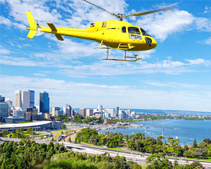 Helicopter Scenic Flight 18 Minute Perth Sampler  Perth  Adrenaline