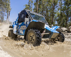 Wet'n'Wild Buggy, 4 Laps Licenced Driver - Gold Coast