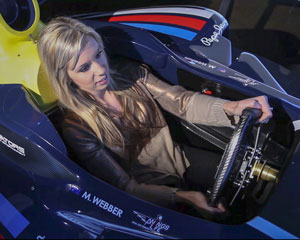 F1 Full Motion Racing Simulator, 30 Minute - Melbourne