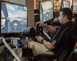 V8 Full Motion Racing Simulator, 60 Minute - Melbourne