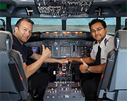 Boeing 737 Flight Simulator Northbridge, Perth - 60 Minute City Flyer WEEKDAY SPECIAL OFFER