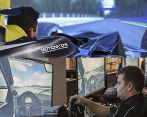 V8 & F1 Full Motion Racing Simulator Combo, 60 Minute - Melbourne SPECIAL OFFER 2-For-1