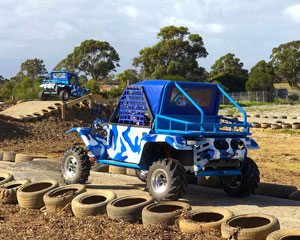 Wild Buggy Driving Adventure, 15 Minute Drive - Melbourne - FAMILY PACKAGE 2 ADULTS 2 CHILDREN!