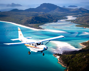 Reef & Island Scenic Flight, 1 hr - Whitsundays