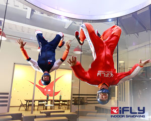 Indoor Skydiving Gold Coast, iFLY Intro Package (2 Flights) - WEDS/THURS/FRI SPECIAL OFFER!
