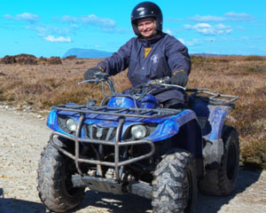 Cradle Mountain Quad Bike Tour - Tasmania PASSENGER ONLY