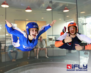 Indoor Skydiving Gold Coast, iFLY Family & Friends Package (10 Flights) - SCHOOL HOLIDAY SPECIAL OFFER
