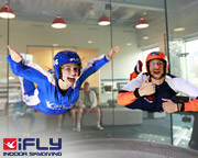 Indoor Skydiving Sydney, iFLY Family & Friends Package (10 Flights) - SCHOOL HOLIDAY SPECIAL OFFER