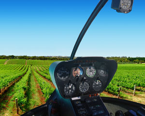 Helicopter Scenic Flight Through The Beautiful Yarra Valley For 2