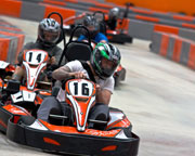Indoor Go Karting, Ultimate Karting + Simulator Package - Sydney