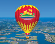 Hot Air Balloon Flight For 2 With Overnight Accommodation And Breakfast At The Mercure Gold Coast Resort